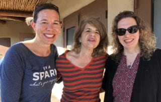 Group picture of 3 Women - Brooke Warner, Michelle Cox and Bonnie Monte