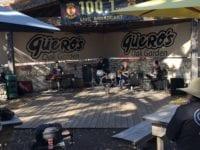 Blues band at Quero's Tacos