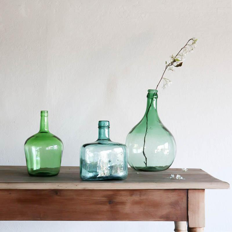 French oil bottles