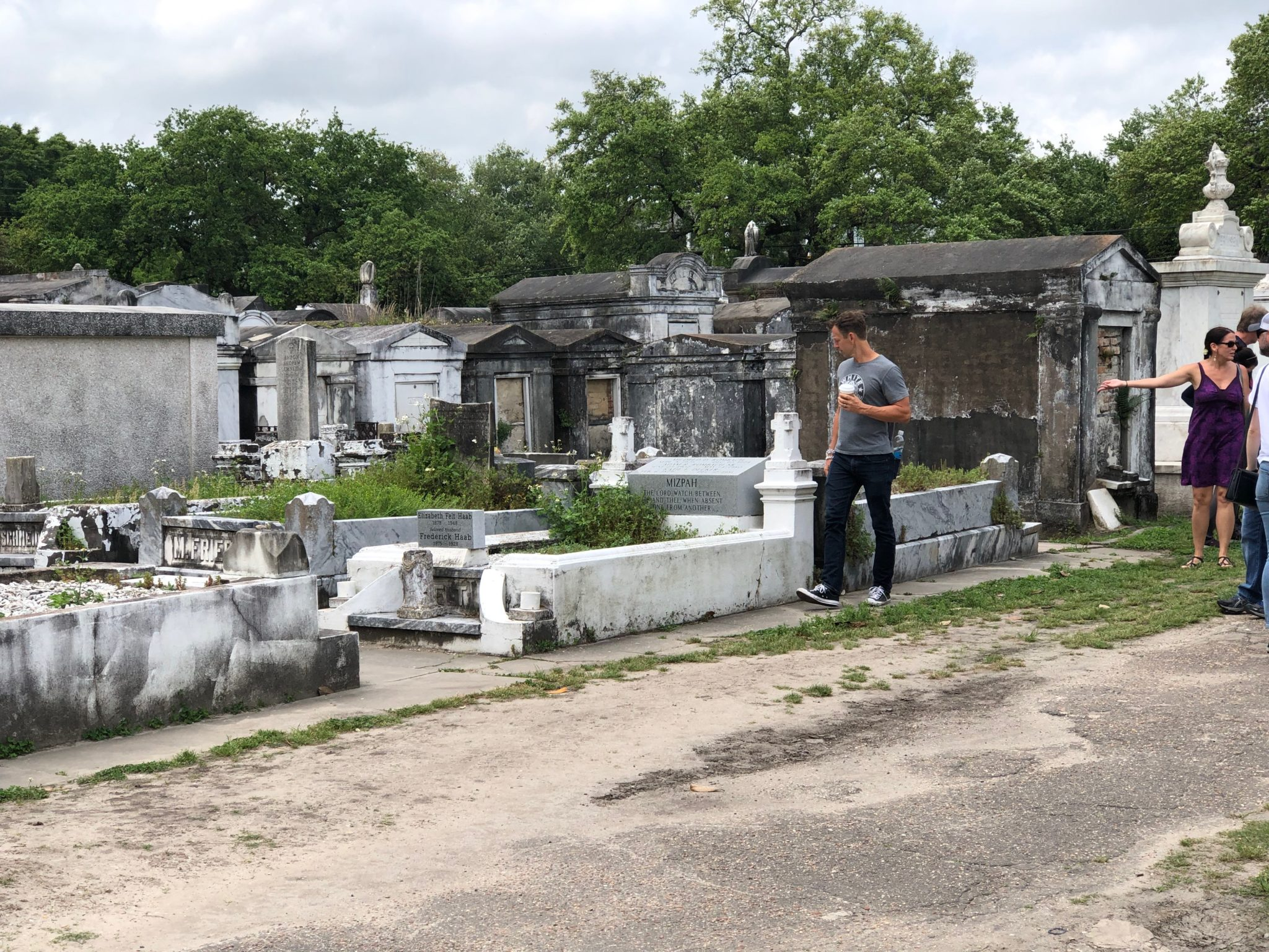 Lafayette Cemetary in the Garden District