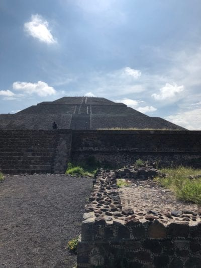 Pyramid of the Sun at Teotihuacan