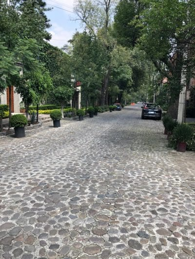 Street in San Angel